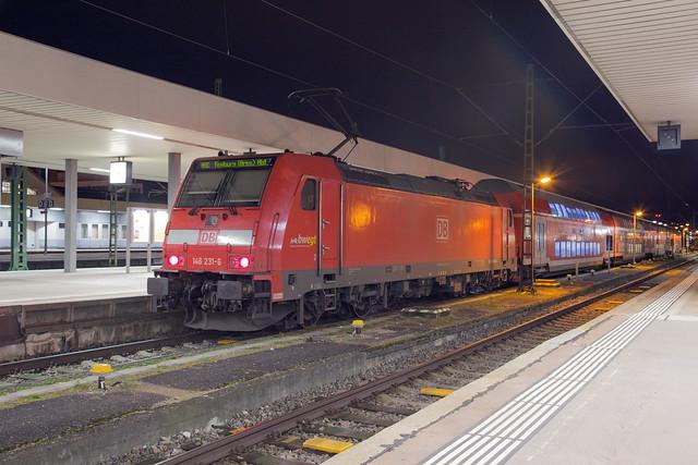 DB Regio 146 231 Basel Badischer Bahnhof