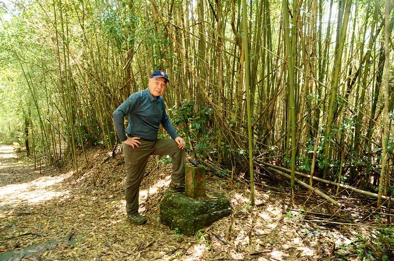 老銃櫃步道東興水庫水源保護區界