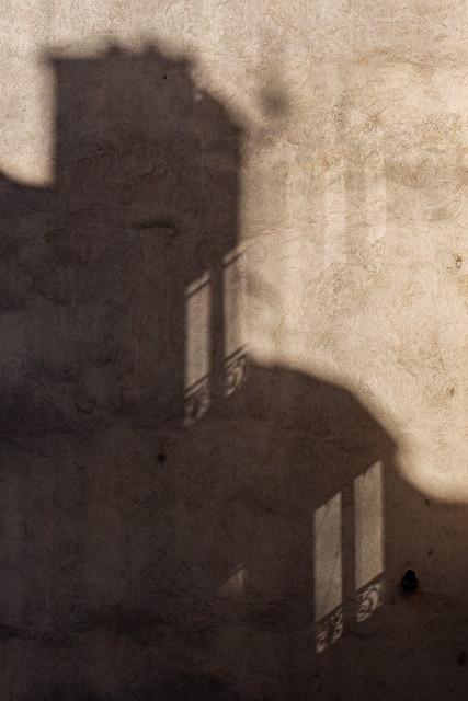 Ombres et reflets rue Récamier