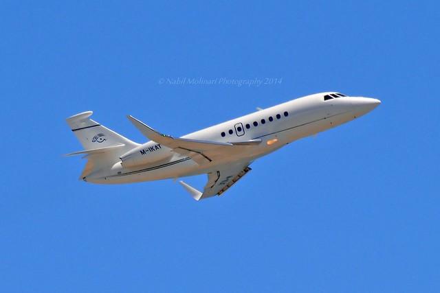 F2000 LX Ltd M-IKAT Dassault Falcon 2000EX cn/220 @ LFMN / NCE 26-05-2014