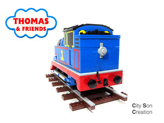 Thomas the Tank Engine (2020) - Back