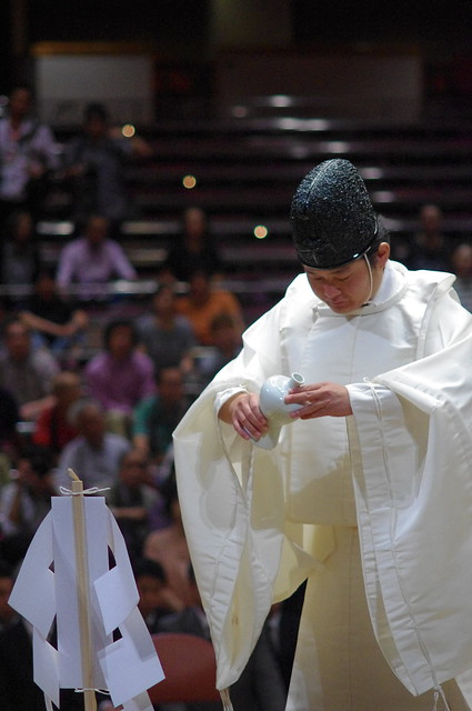 Sumo Ring Ceremony, Tokyo, Japan (In Explore)