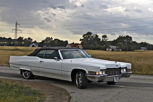 Cadillac DeVille Convertible 1969 (8305)
