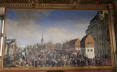 Place du Palais de Christianborg, Musée national d'histoire, château de Frederiksborg, Hillerød, Sélande, Danemark