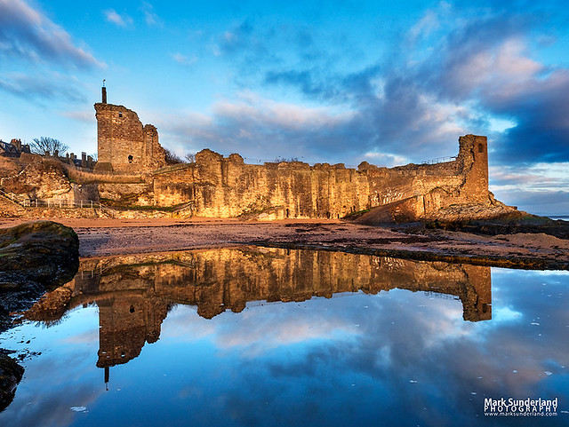 St Andrews Castle at Dawn