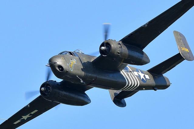 North American B25 Mitchell 34380 Called Barbie III SN 43-4106 USAAF  N5548N