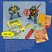 Playmates Toys TEENAGE MUTANT NINJA TURTLES ::  Gags, Jokes and Crazy Weapons #3 ..card backer vi  (( 1988 ))