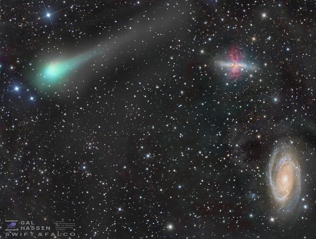 A view of Comet C2017 C2.