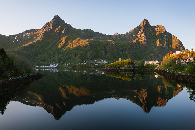 Mirror Lake of Svolvær