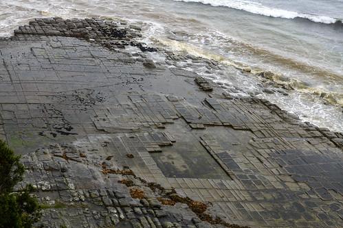 Tessellated Pavement / Природный тротуар на берегу океана
