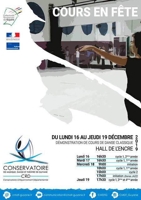 Cours en fête (16-19/12/19)