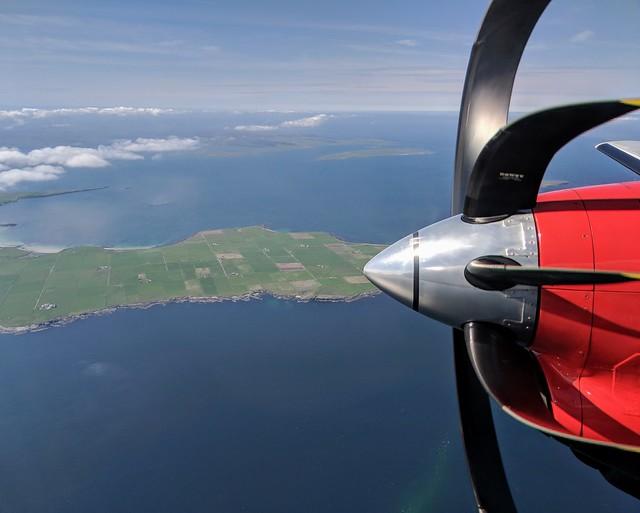 Return from Shetland