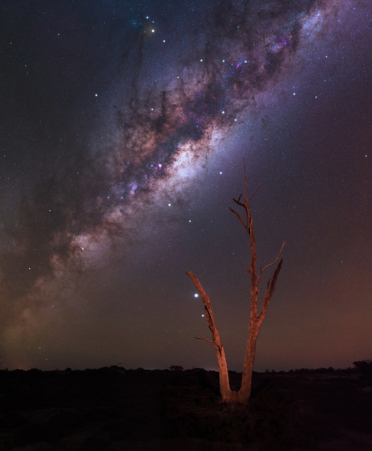 Milky Way at Lake Dowerin, Western Australia