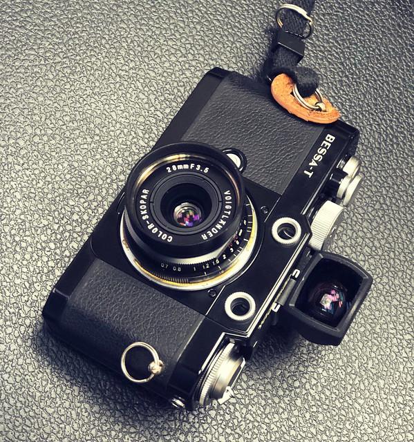 Voigtlander 28mm f3.5 福倫達的廣角級露銅