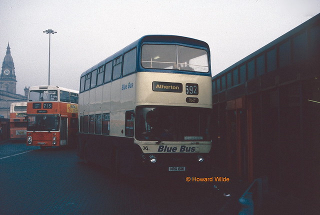 Hughes (Atherton Bus Company), Westhoughton NRG 161M, on loan from Blue Bus, Horwich