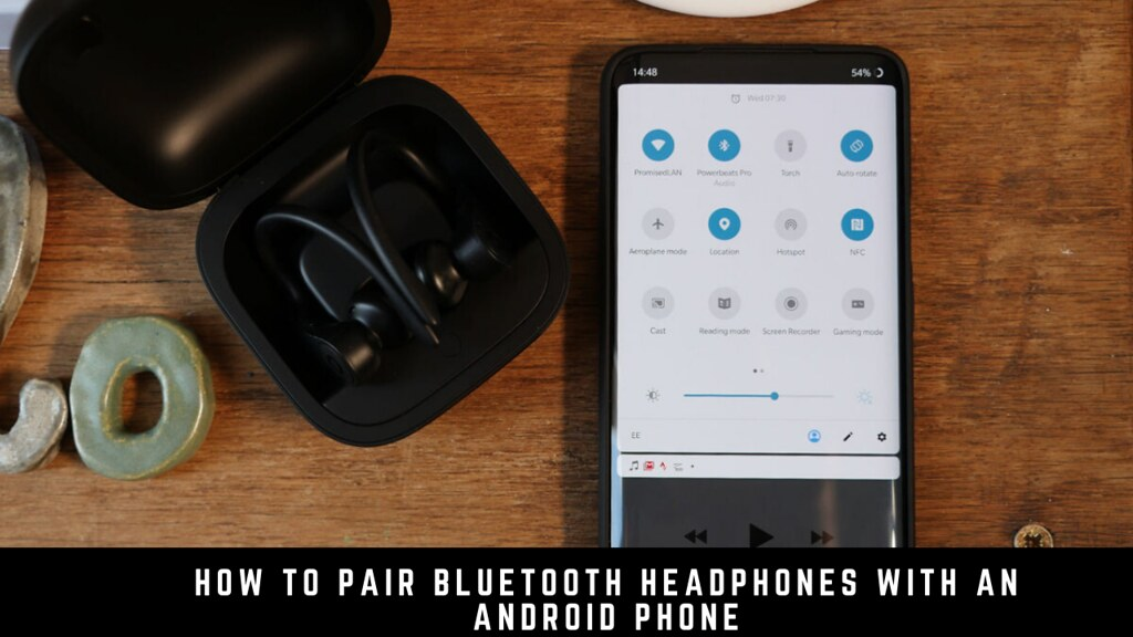 How to pair Bluetooth headphones with an Android phone