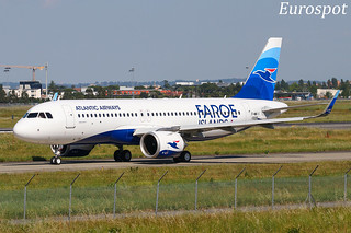 F-WWII Airbus A320 Neo Atlantic Airways