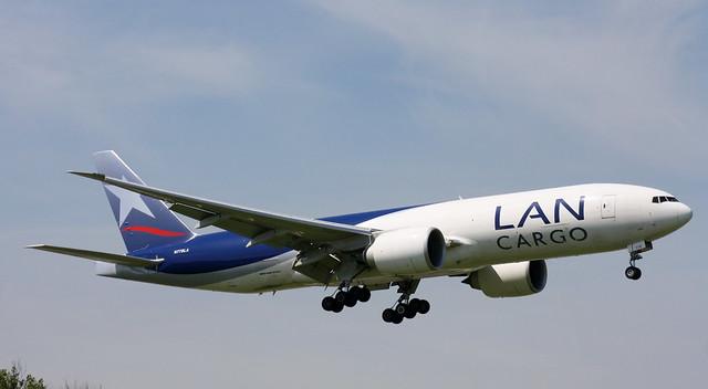 LAN Cargo, N778LA, MSN 41518, Boeing 777-F16, 17.05.2014,  AMS-EHAM, Amsterdam Schiphol