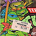 Playmates Toys TEENAGE MUTANT NINJA TURTLES ::  Gags, Jokes and Crazy Weapons #3 ..card backer ii  (( 1988 ))