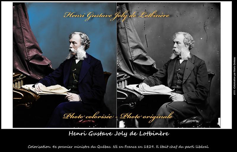 Henri Gustave Joly de Lotbinère