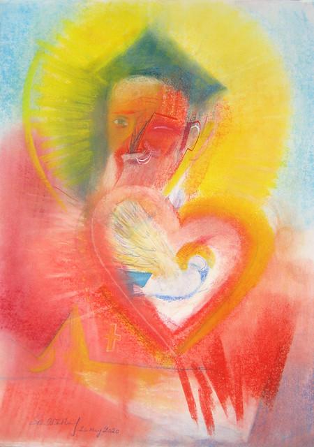 Saint Philip Neri . 2020 by Stephen B. Whatley