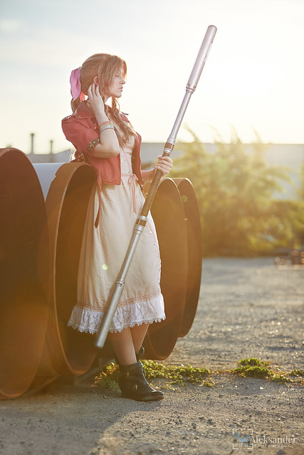 Aerith from FF 7 Remake
