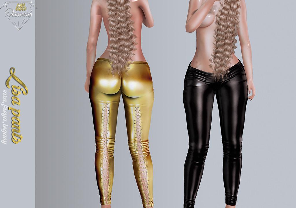 lisa pants poster