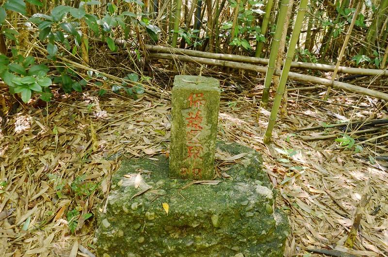 老銃櫃步道東興水庫水源保護區界(# 38 Elev. 157 m) (2)