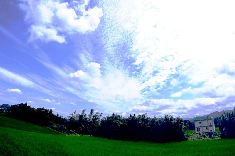 下林坪山(鑛務點)登山口展望