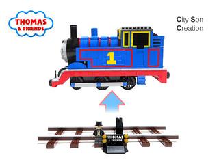 Thomas the Tank Engine (2020) - Display