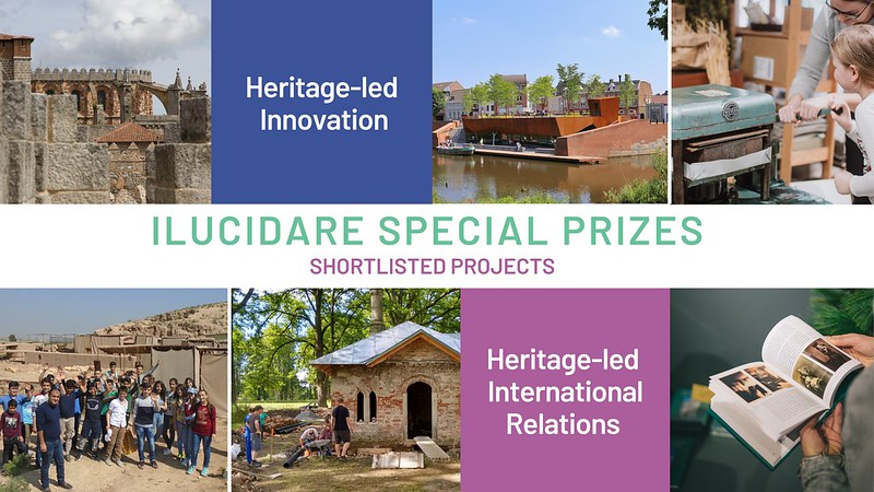 Collage with 6 shortlisted projects for ILUCIDARE Special Prizes 2020
