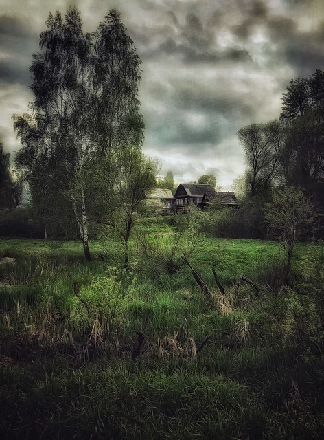 Old House on the Edge of the Village