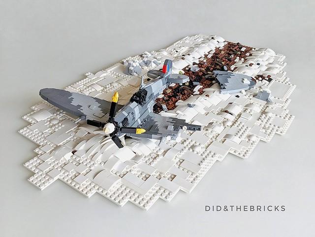 Spitfire Emergency Landing