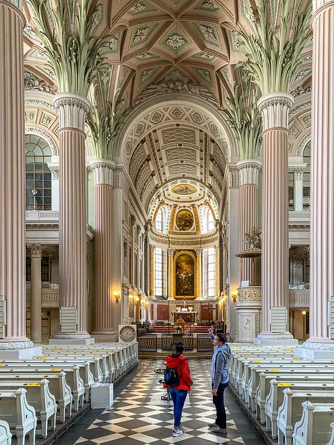 Besuch in der Nikolaikirche Leipzig zur Coronazeit