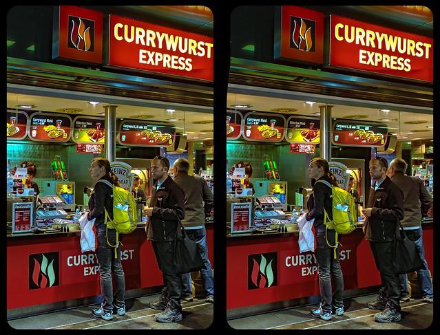 Currywurst Express 3-D / CrossView / Stereoscopy