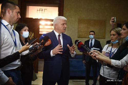 Duško Marković - odgovori na pitanja novinara