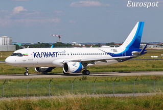 F-WWBJ Airbus A320 Neo Kuwait Airways
