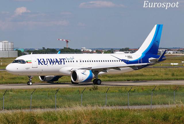 F-WWBJ Airbus A320 Neo Kuwait Airways