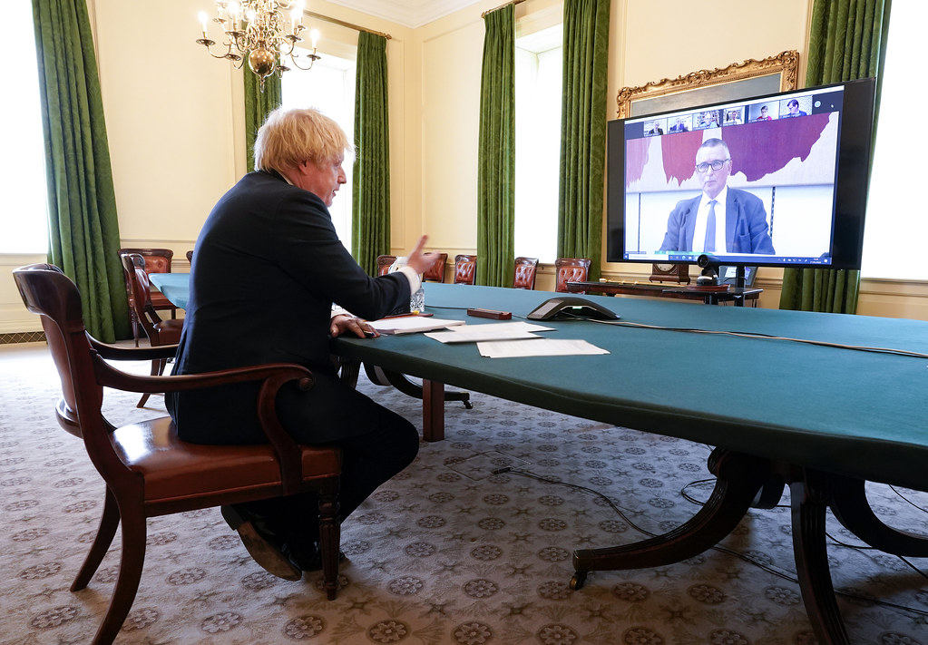 Boris Johnson appears before the Liaison Committee