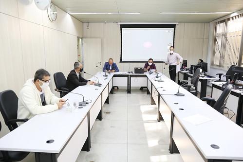 Audiência pública para apresentação de relatório detalhado pelo gestor do SUS no município referente ao 1º quadrimestre/2020 - 8ª Reunião Ordinária - Comissão de Saúde e Saneamento
