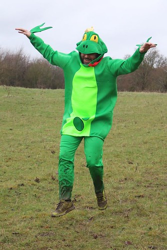 Blazej frog costume