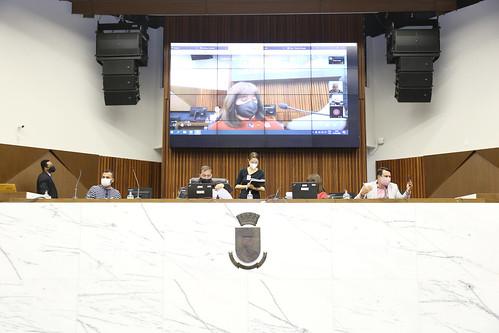 Audiência pública para prestação de contas quadrimestral pelos poderes Executivo e Legislativo - 8ª Reunião Ordinária - Comissão de Orçamento e Finanças Públicas