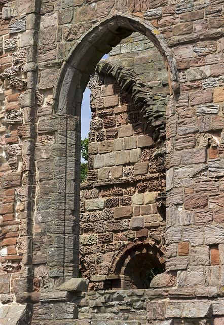 Lindisfarne Priory, Holy Island, Northumberland, UK