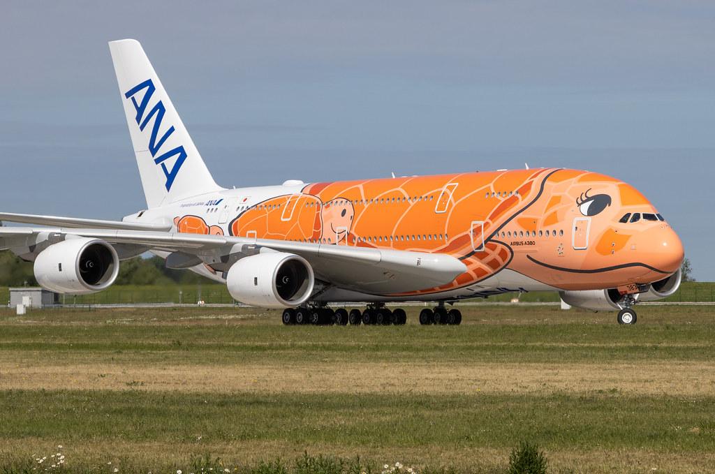 A380-841, All Nippon Airways, F-WWAL, JA383A (MSN 266)