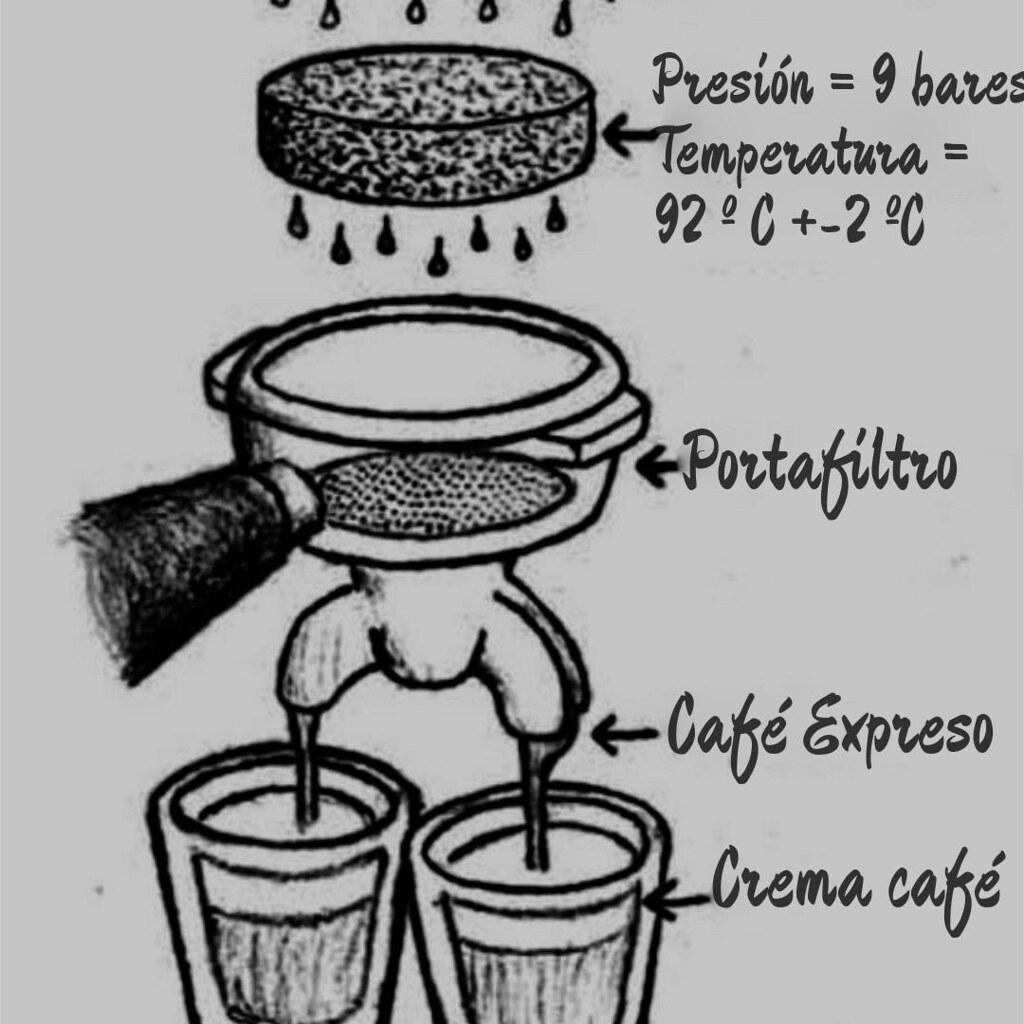 Infografía café expreso