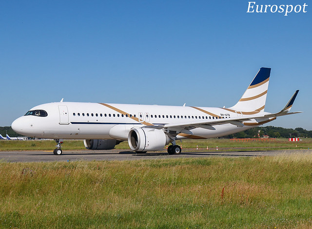 9H-ATB Airbus A320 Neo Air Luther / Comlux Malta