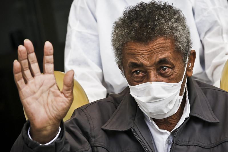 Mais cinco pacientes receberam alta do Hospital de Campanha