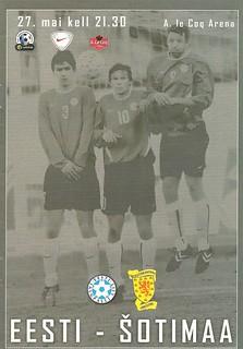Estonia v Scotland 20040527