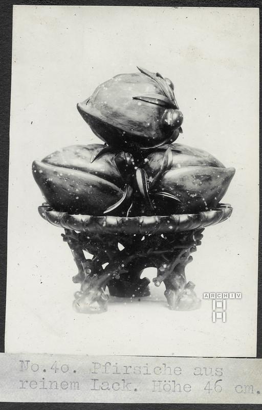ArchivTappenX108 Lack Pfirsiche, China-Album r, 1910-1920er