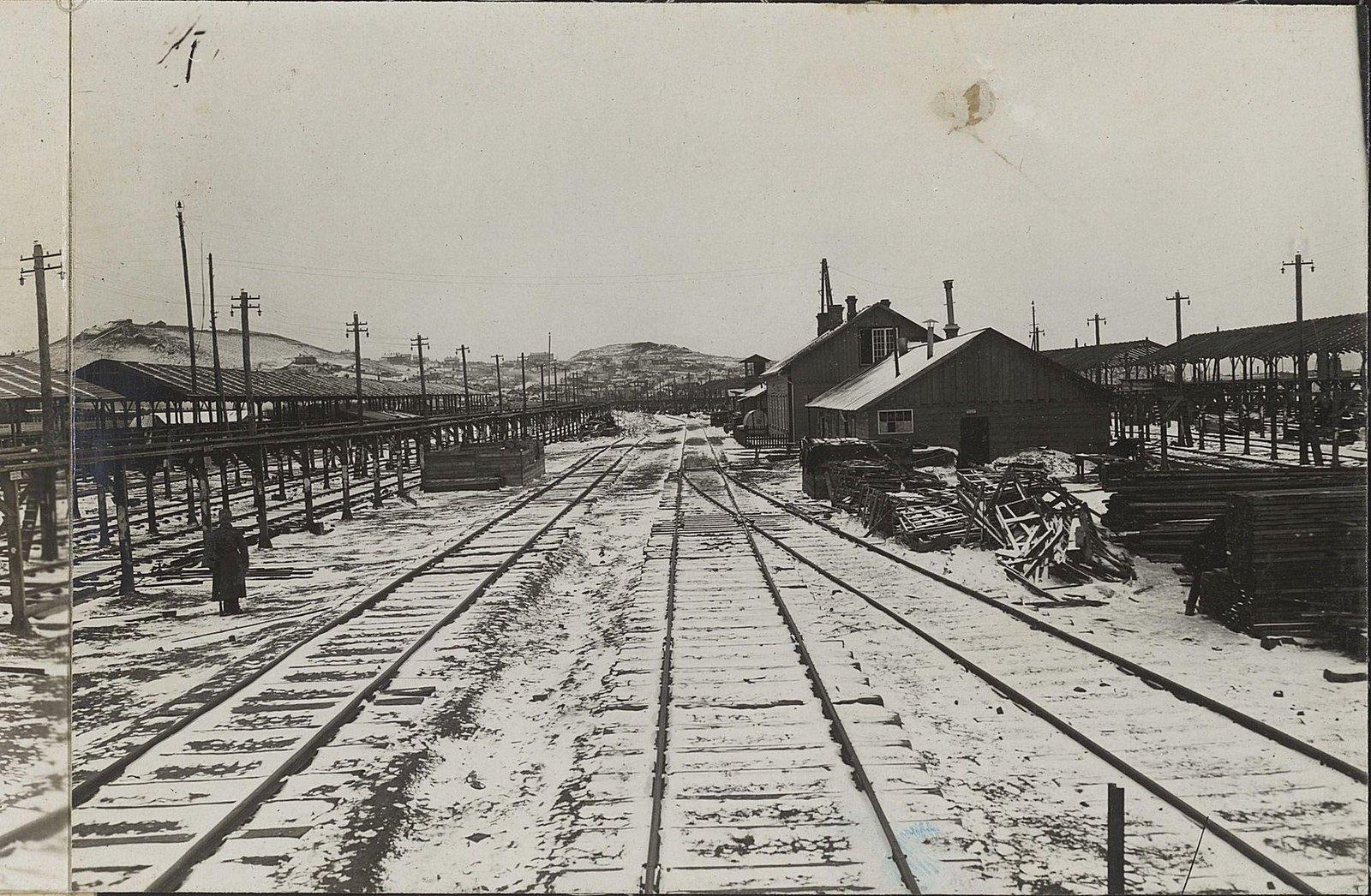14. Третий отдел со стороны паровозного депо Уссурийской железной дороги